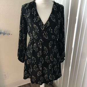 Lush floral dress size small